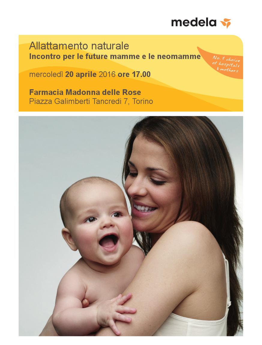 2016_03_16_locandina corso  allattamento Farmacia Madonna  delle Rose